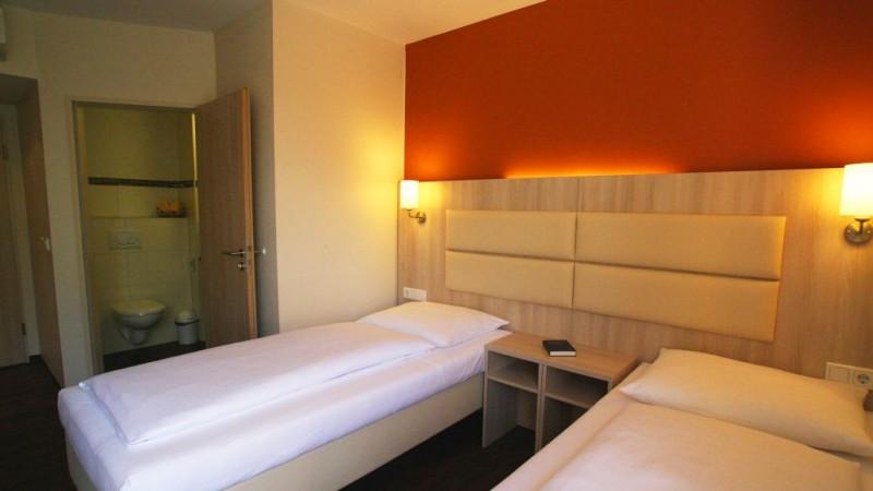 Rödelheimer Hof::Twin-Bett Zimmer